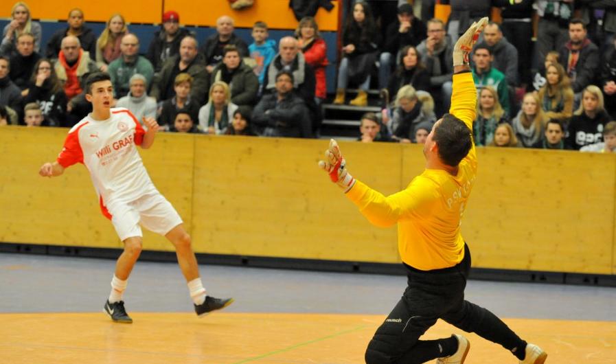 Mäßiger Erfolg der 1. Mannschaft bei der Hallenstadtmeisterschaft 2011