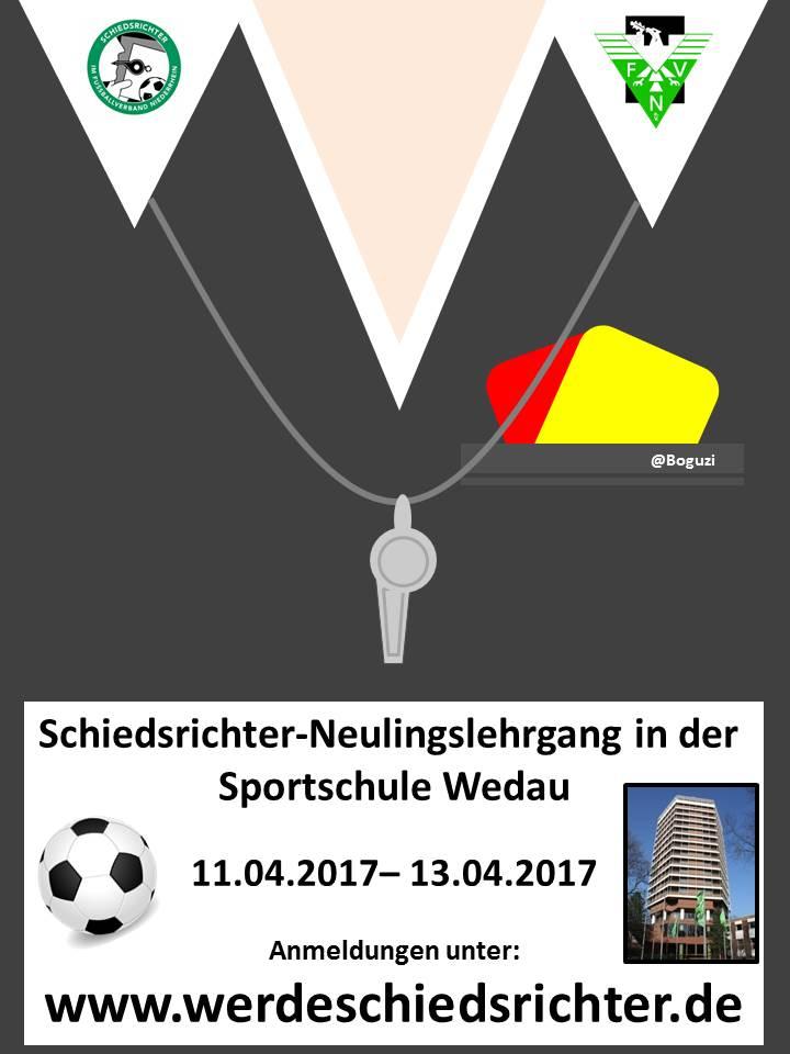 Schiedsrichter-Lehrgang 11.04.2017 – 13.04.2017